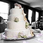 A delicious 4-tier wedding cake.