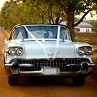 Classic wedding car.
