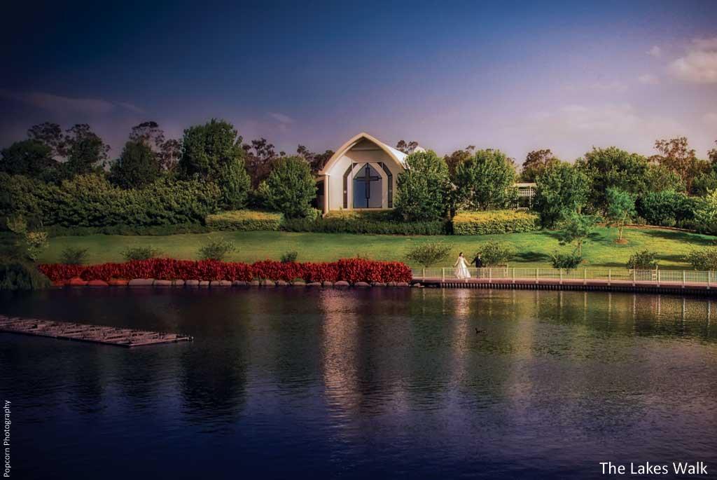 The Lakes Walk Rotunda Hunter Valley Gardens